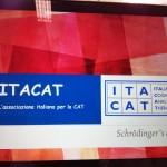 Slide iniziale della presentazione di ITACAT a cura di Poggioli, Fiorani, Guidotti